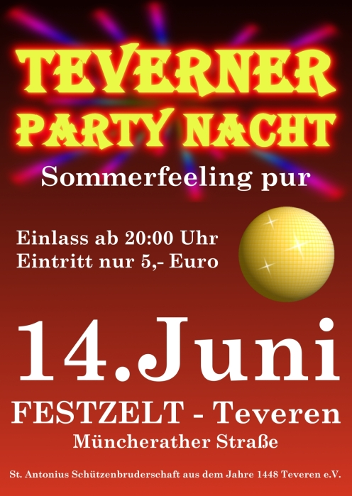 Teverner Party Nacht 2019